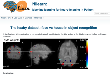 nilearn decoding