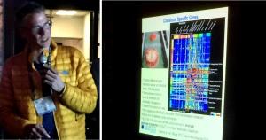 Presentation by Christof Koch at SfCR 2015. Image by ©Jared B. Smith