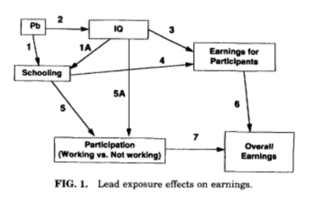 Lead exposure effects salkever copy